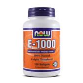 E-1000 100 Softgels -  NOW FOODS