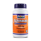 ECHINACEA 400mg 100 Caps - NOW FOOTS