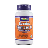 EVENING PRIMROSE OIL 500mg 100 Softgels - NOW FOODS