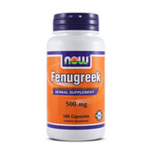 FENUGREEK 500mg 100 Caps - NOW FOODS