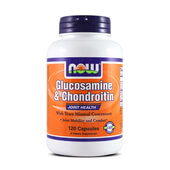 GLUCOSAMINE & CHONDROITIN 120 Caps - NOW FOODS