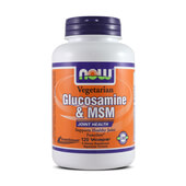 GLUCOSAMINE & MSM 120 VCaps - NOW FOODS
