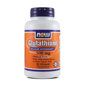 GLUTATHIONE 500mg 60 VCaps - NOW FOODS