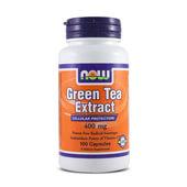 GREEN TEA EXTRACT 400mg 100 Caps - NOW FOODS