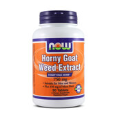 HORNY GOAT WEED EXTRACT 750mg 90 Tabs - NOW FOODS