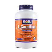 L-CARNITINE 1000mg 100 Tabs - NOW FOODS