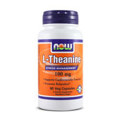L-THEANINE 100mg 90 VCaps - NOW FOODS