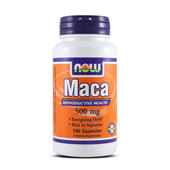 MACA 500mg 100 Caps - NOW FOODS