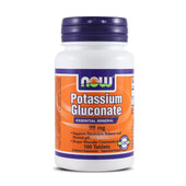 POTASSIUM GLUCONATE 99mg 100 Tabs - NOW FOODS