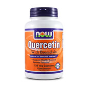 QUERCERTIN WITH BROMELAIN 120 VCaps - NOW FOODS