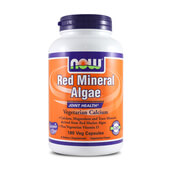 RED MINERAL ALGAE 180 VCaps - NOW FOODS