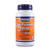 SAW PALMETTO EXTRACT 160mg 120 Softgels - NOW FOODS