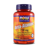 BETA ALANINE 750mg 120 Caps - NOW SPORTS