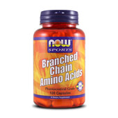 BRANCHED CHAIN AMINO ACIDS 120 Caps - NOW SPORTS