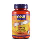 L-GLUTAMINE 1500mg 90 Tabs - NOW SPORTS
