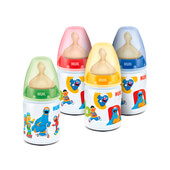 BIBERON FIRST CHOICE BARRIO SESAMO LATEX 0-6 M 150ml - NUK