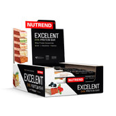EXCELENT PROTEIN BAR DOUBLE 18 x 85 g - NUTREND