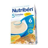 5 CEREALES FIBRA 600g - NUTRIBEN