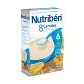 8 CEREALES 600g - NUTRIBEN