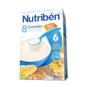 8 CEREALES GALLETA MARIA 300g - NUTRIBEN