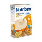 8 CEREALES MIEL CALCIO 600g - NUTRIBEN