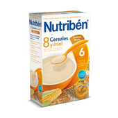 8 CEREALES MIEL GALLETA MARIA 300g - NUTRIBEN