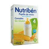 PAPILLA DE INICIO CEREALES SIN GLUTEN 300g - NUTRIBEN