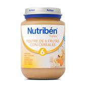 POTITOS POSTRE 6 FRUTAS CON CEREALES 200g - NUTRIBEN