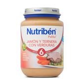 POTITOS JAMON TERNERA CON VERDURAS 200g - NUTRIBEN