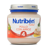 POTITOS POLLO CON ARROZ 130g - NUTRIBEN