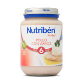 POTITOS POLLO CON ARROZ 200g - NUTRIBEN