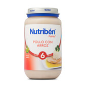 POTITOS POLLO CON ARROZ 250g - NUTRIBEN