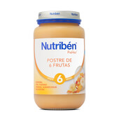 POTITOS POSTRE DE 6 FRUTAS 250g - NUTRIBEN