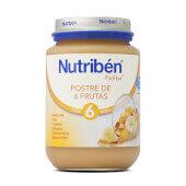 POTITOS POSTRE DE 6 FRUTAS 200g - NUTRIBEN
