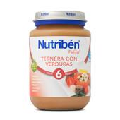 POTITOS TERNERA CON VERDURAS 200g - NUTRIBEN