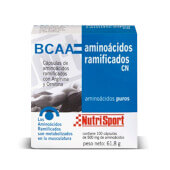 BCAA AMINOACIDOS RAMIFICADOS 100 Caps - NUTRISPORT