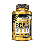 BCAA GOLD 5000 (Xtrem Gold Series) 120 Caps - NUTRYTEC