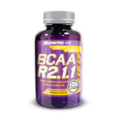 BCAA R2.1.1 (Platinum Pro) 100 Caps - NUTRYTEC