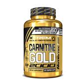 CARNITINE GOLD 2000 (Xtrem Gold Series) 120 Caps - NUTRYTEC