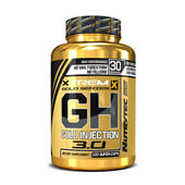 GH GOLD INJECTION 3.0 (Xtrem Gold Series) 120 Caps - NUTRYTEC