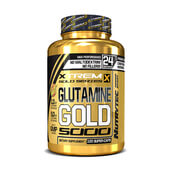 GLUTAMINE GOLD 5000 (Xtrem Gold Series) 120 Caps - NUTRYTEC
