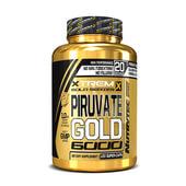PIRUVATO GOLD 6000 (Xtrem Gold Series) 120 Caps - NUTRYTEC