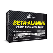 BETA-ALANINE CARNO RUSH Mega Tabs - 80 Tabs