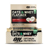 OAT & WHEY FLAPJACK 12 x 70g - OPTIMUN NUTRITION