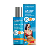 SUN&SLIM FOTOPROTECTOR CON ACCION REDUCTORA FPS30 200ml - PROTEXTREM