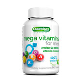 MEGA VITAMINS FOR MEN 60 Tabs - QUAMTRAX