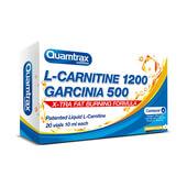L-CARNITINE 1200 GARCINIA 500 - 20 x 10 ml