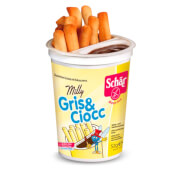 Milly Gris y Ciocc son grissini sin gluten ni lactosa.