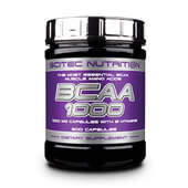BCAA 1000 - 300 Caps - SCITEC NUTRITION
