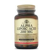 ÁCIDO ALFA LIPOICO (ALA) SOLGAR - antioxidante - 200mg